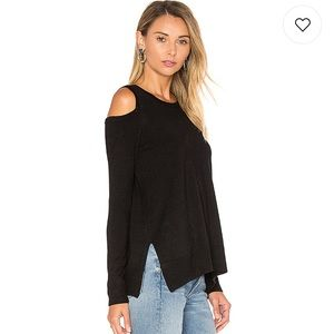 NWT Gabby cold shoulder sweater